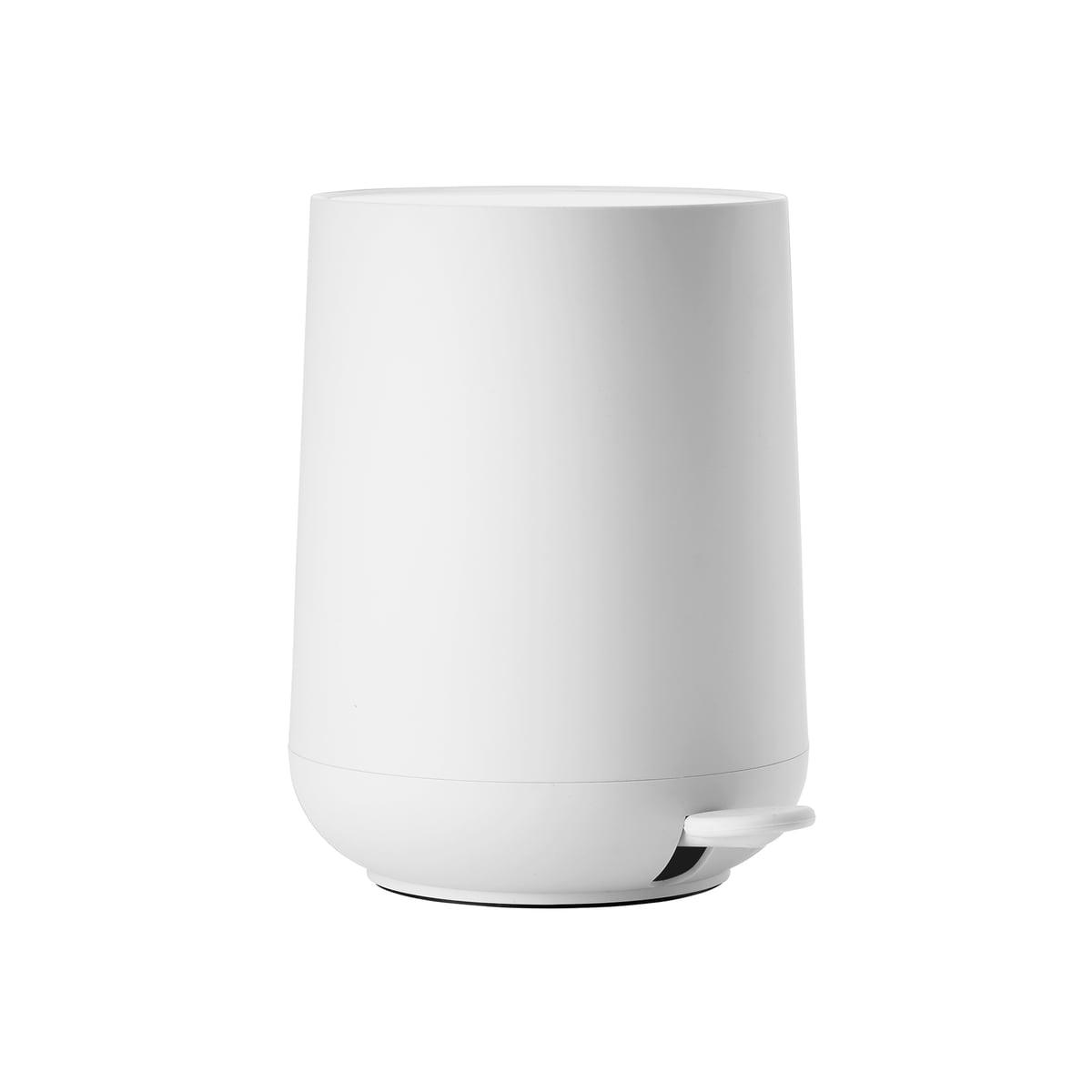 Pedal bin white nova 3 L