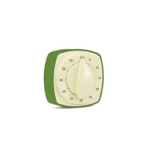 Retro kitchen timer green