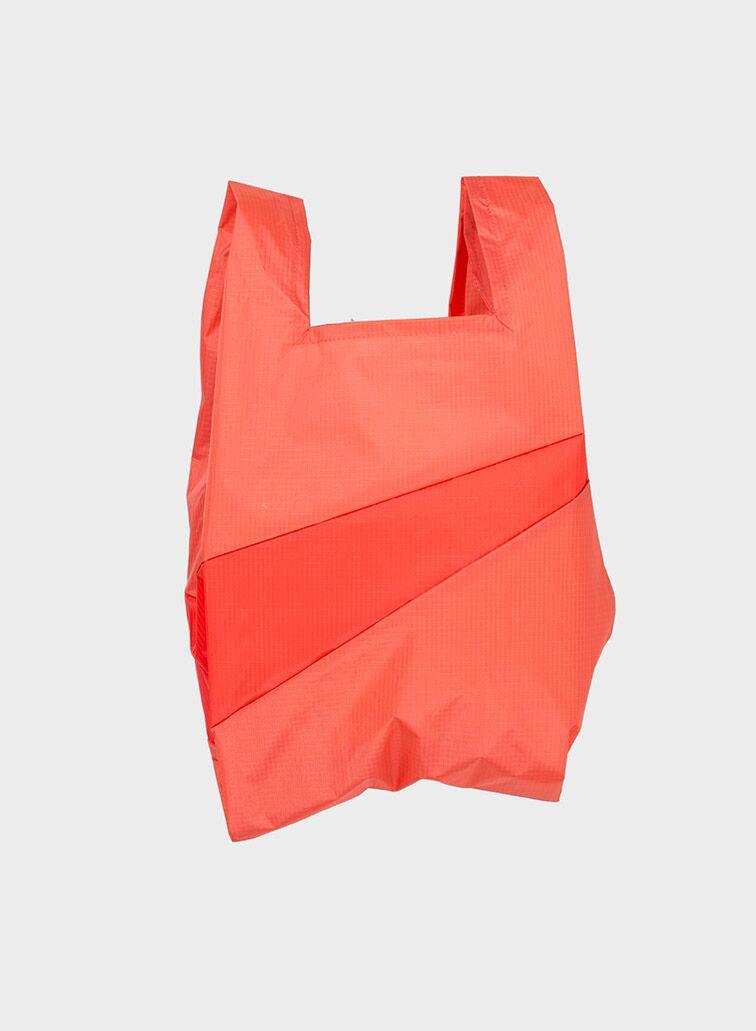 Shoppingbag 2012 salmon & red alert M