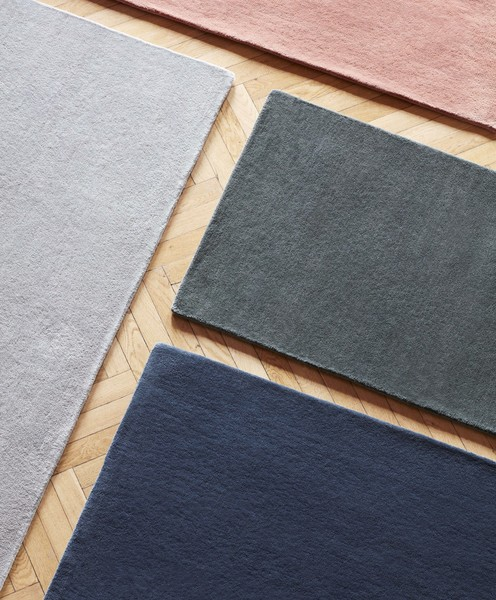 Raw Rug NO2 140 x 200 cm Midnight blue