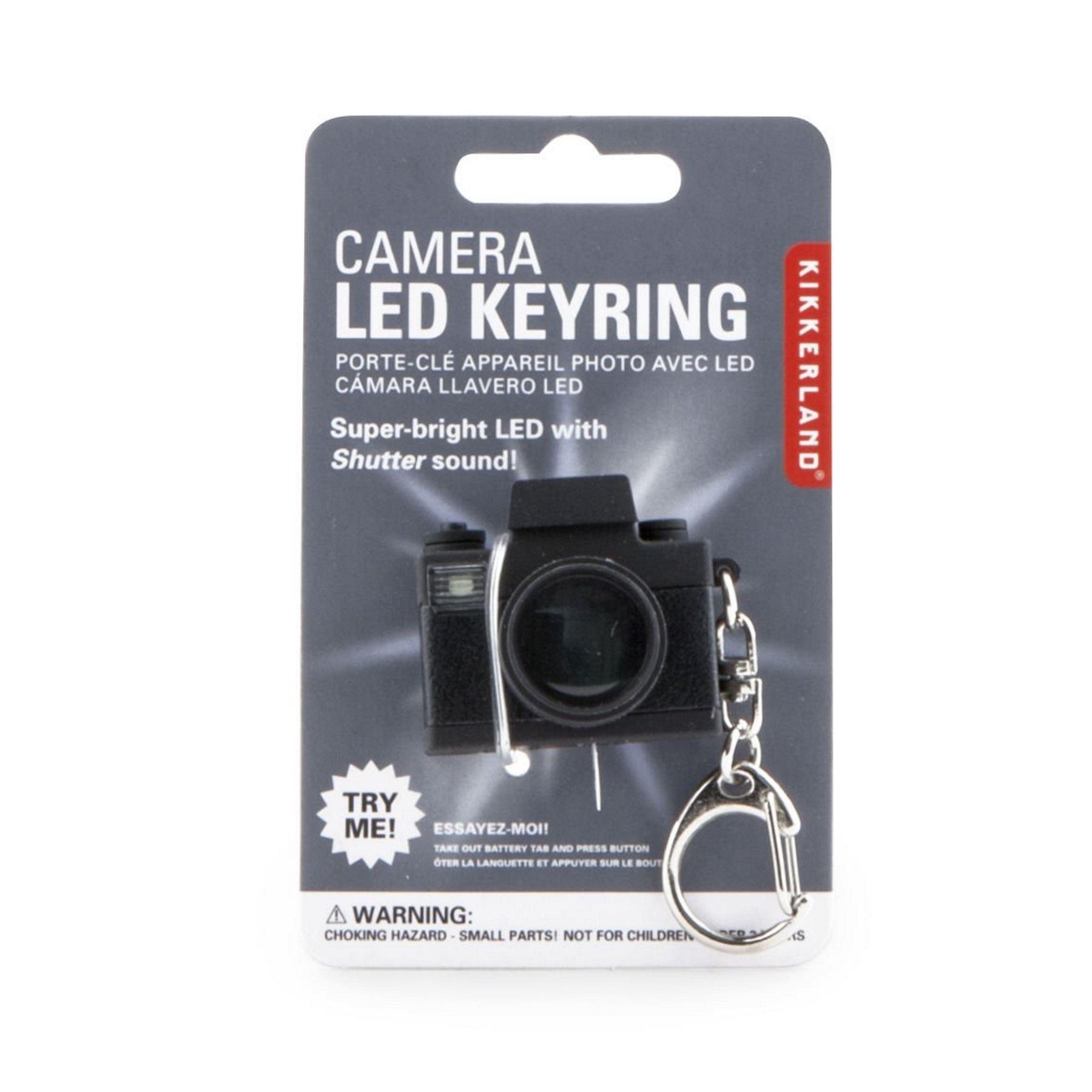 Camera led keychain