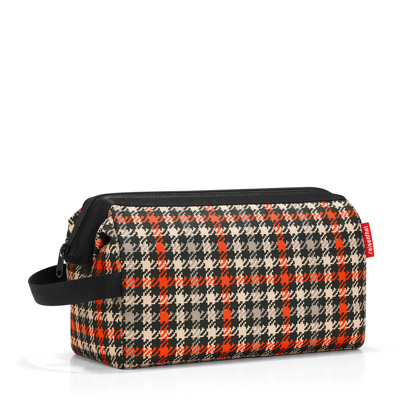 Travelcosmetic XL glencheck red