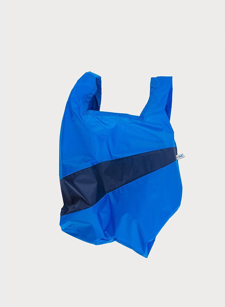 Shoppingbag blue & navy S