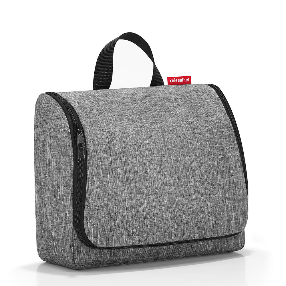 Toiletbag XL twist silver