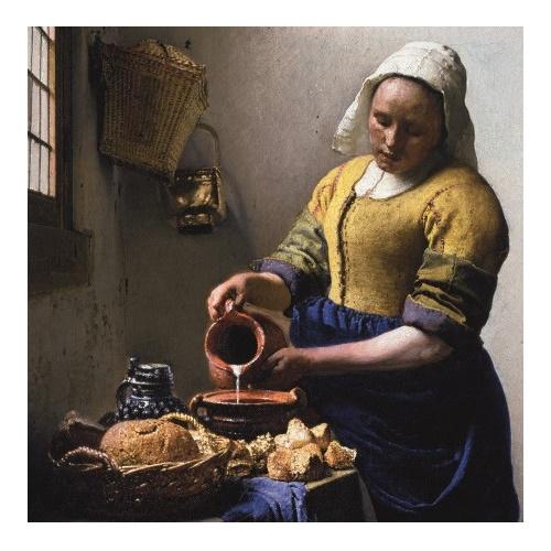 De Keukenmeid - Johannes Vermeer 210