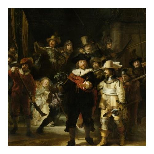 De Nachtwacht - Rembrandt van Rijn 210