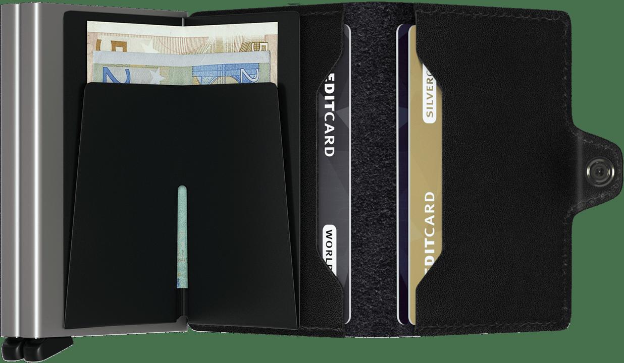 Twin wallet original black