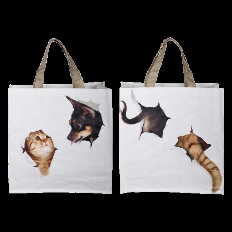 Boodschappentas kat/hond