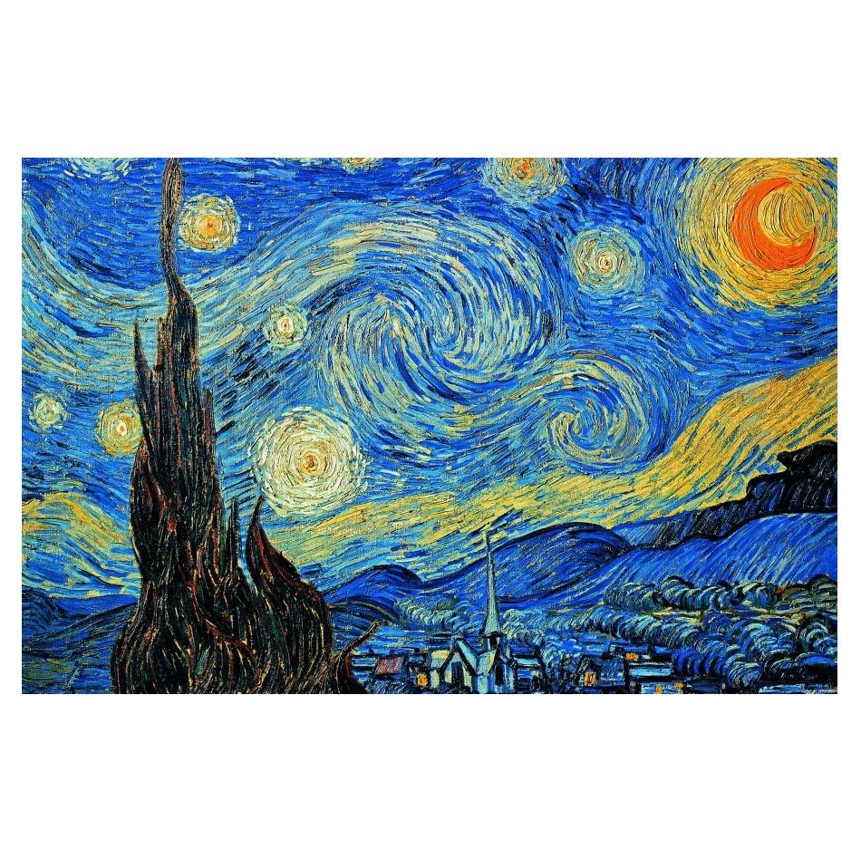 De Sterrennacht - Vincent van Gogh