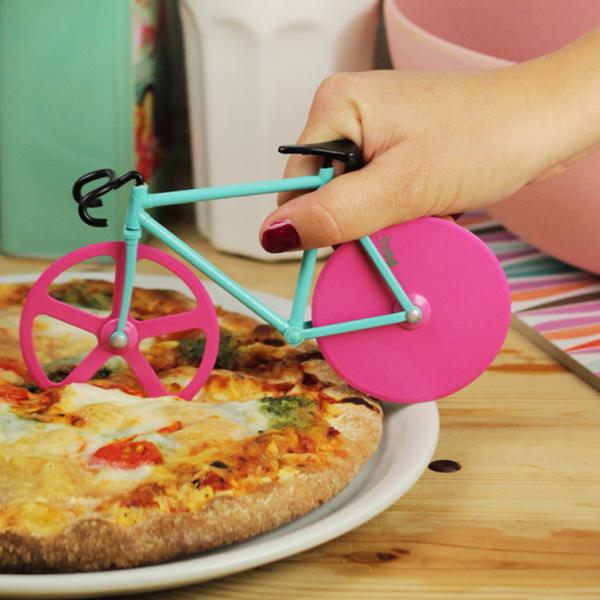 Fixie pizzasnijder fiets watermelon