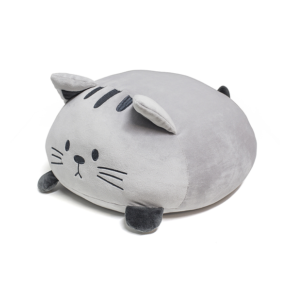Cushion kitty grey