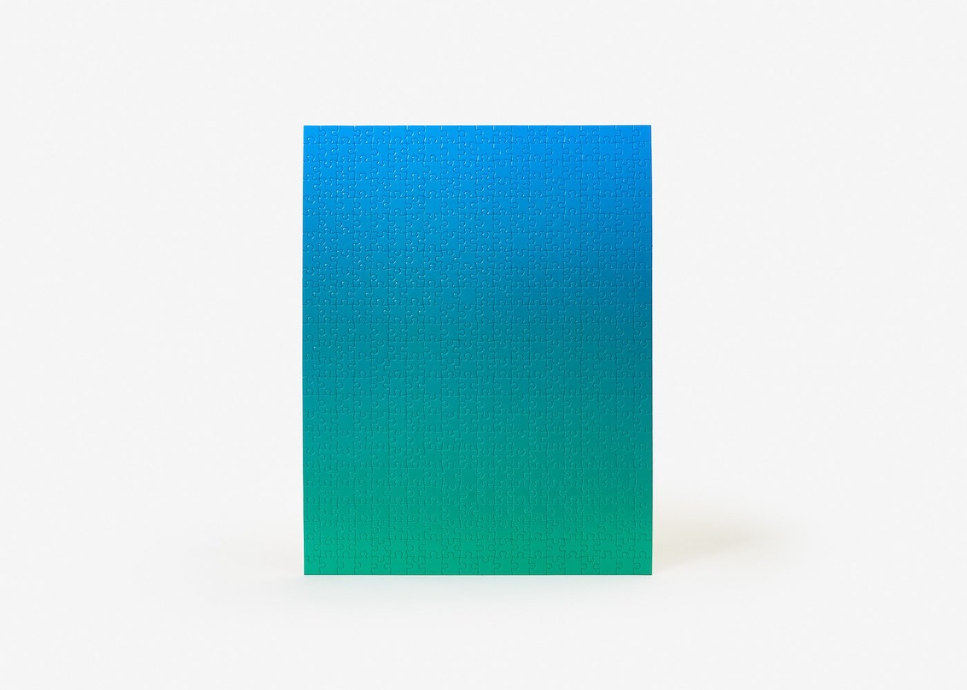 Puzzle gradient blue/green