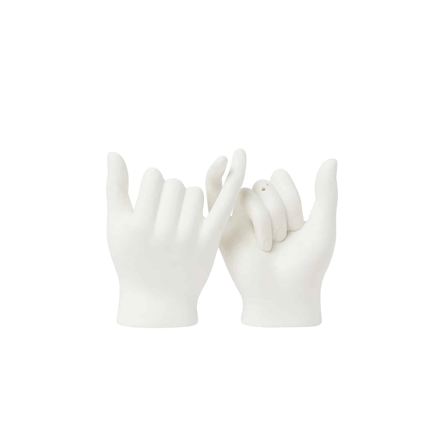Pinky swear salt & peper shakers