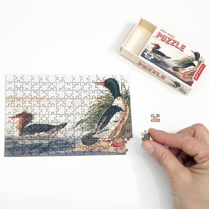 Mini bird puzzel eenden