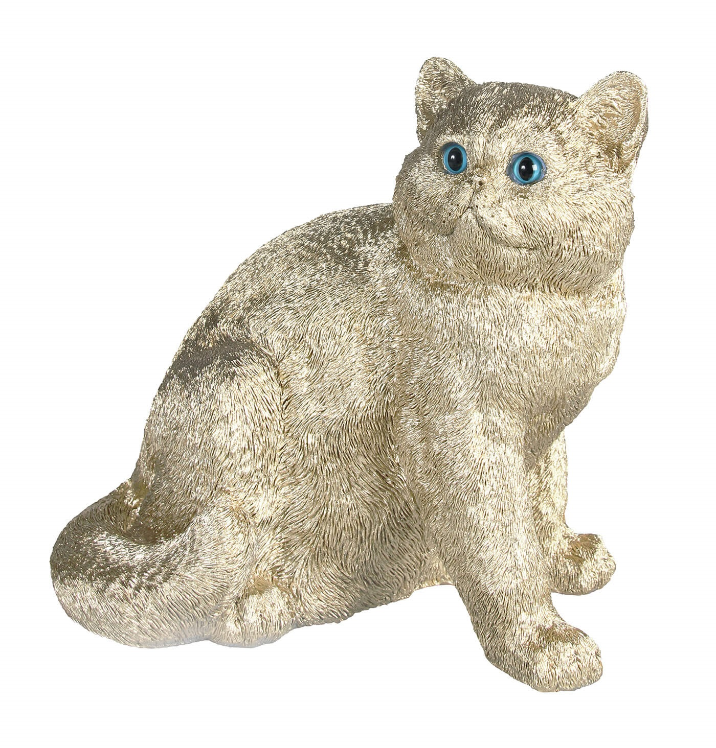 Coinbank exotic cat gold