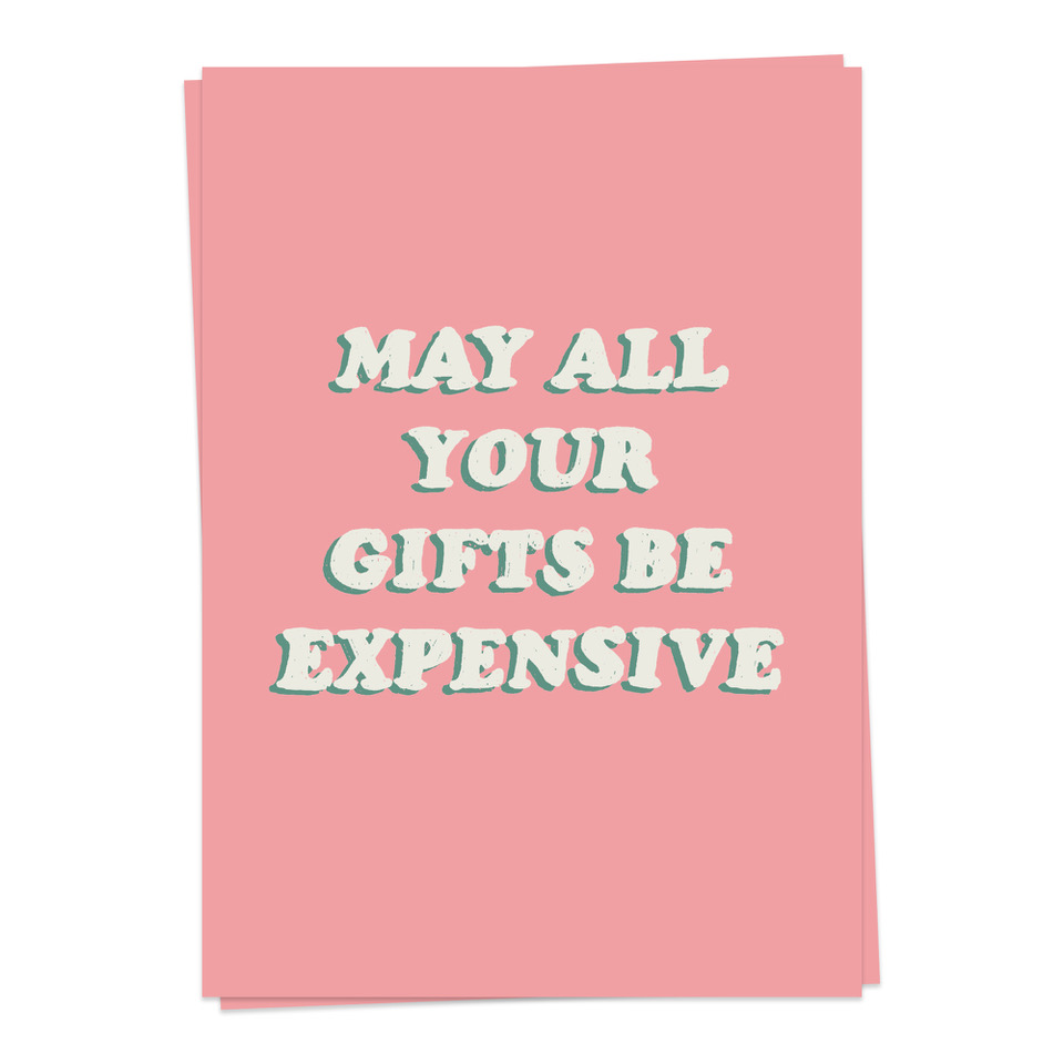 Birthday – Expensive gifts