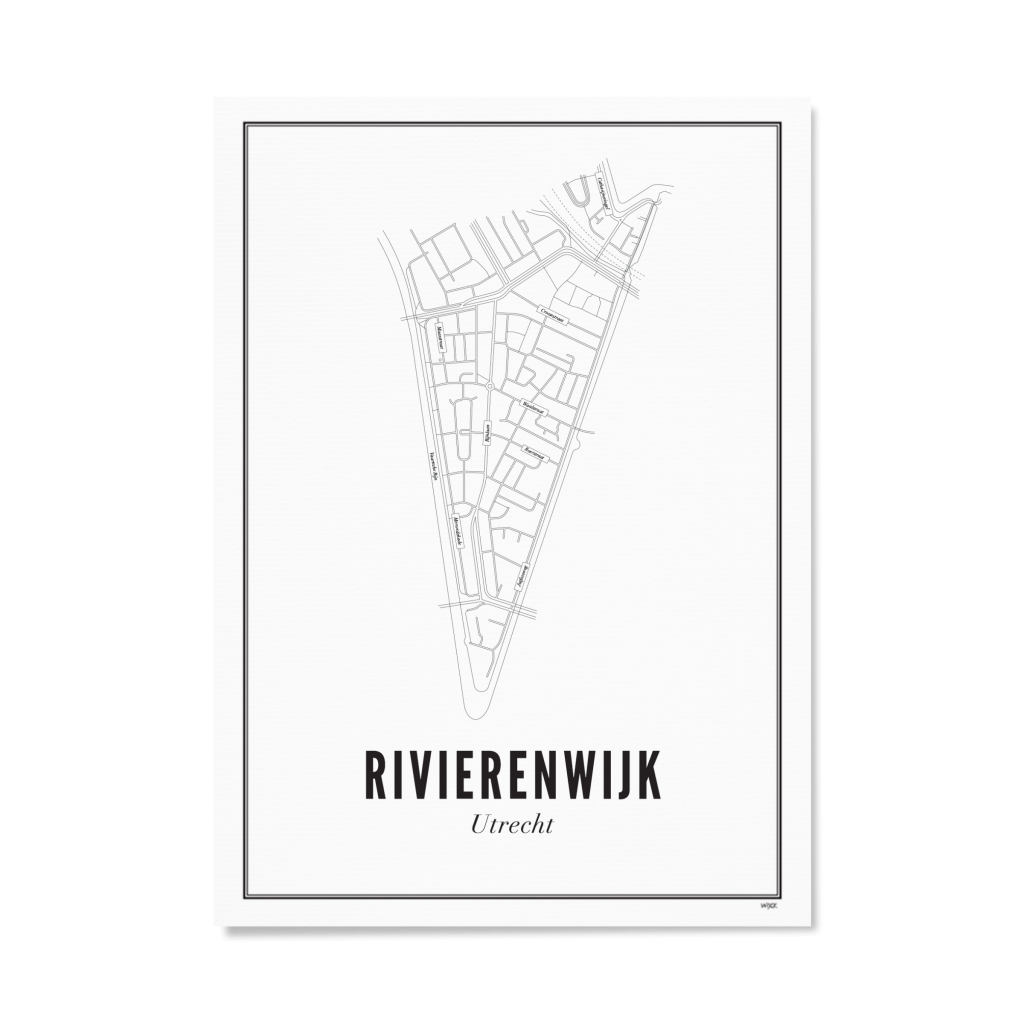 Utrecht Rivierenwijk 40X50
