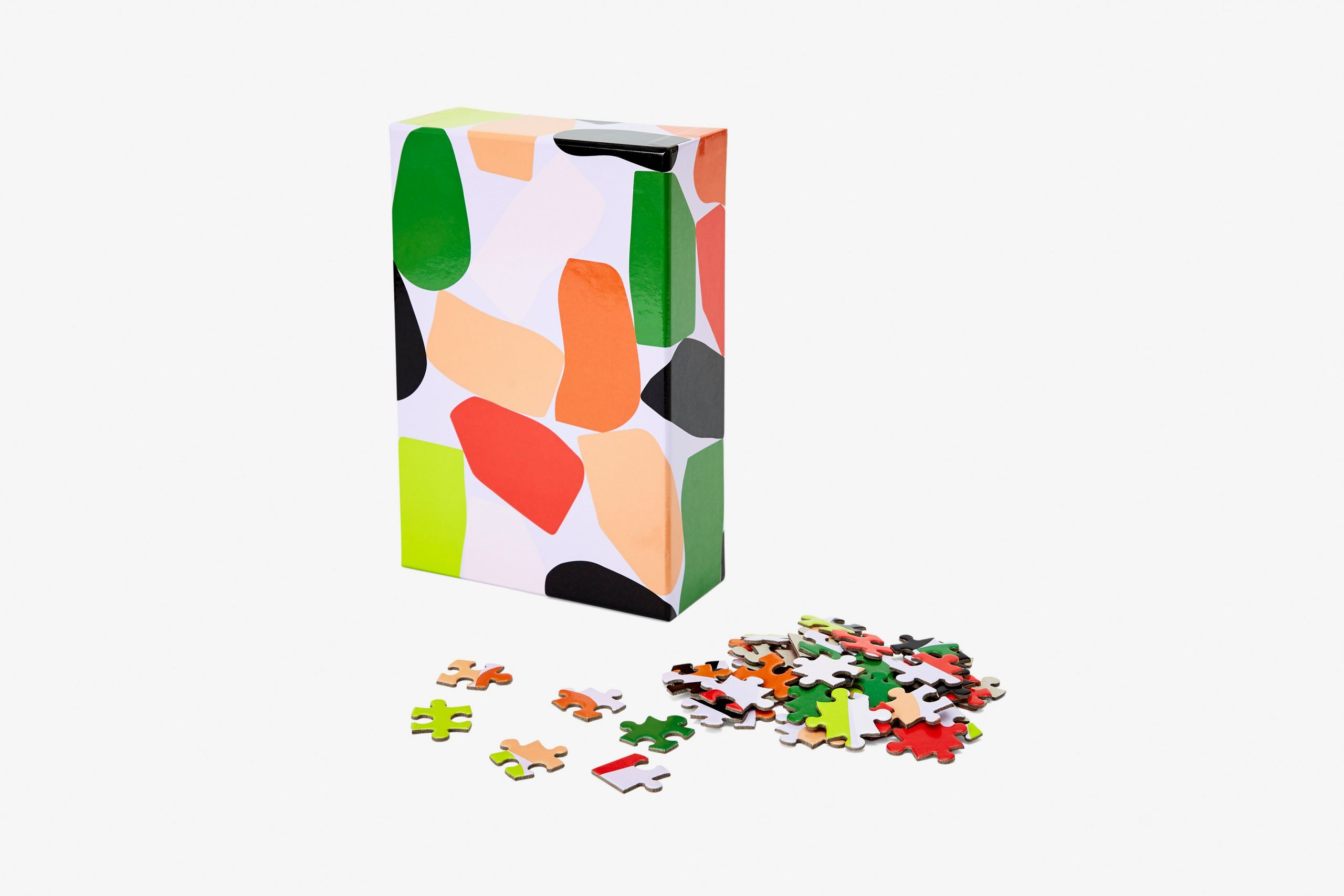 Puzzle pattern Stack