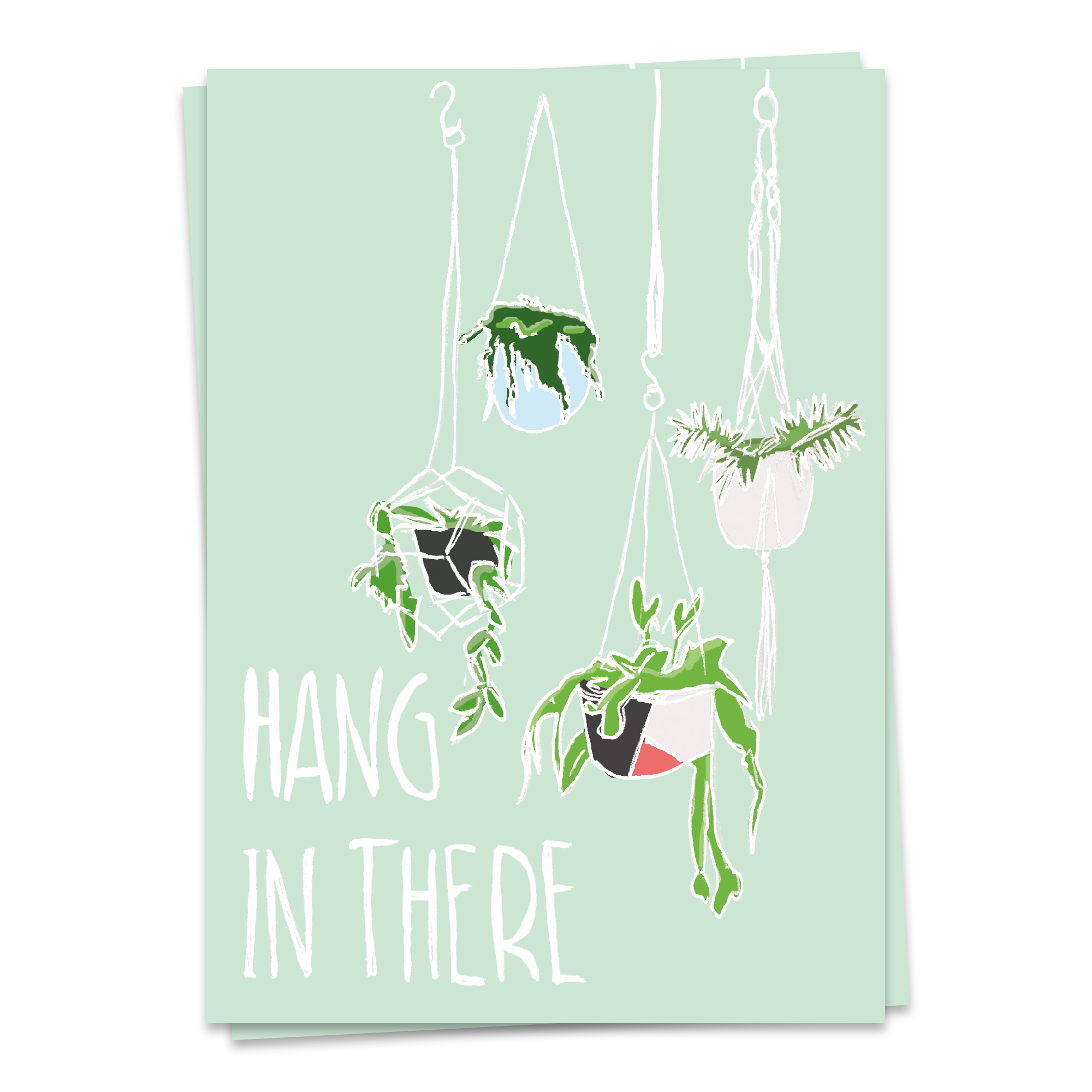 Plantlove - hang in there