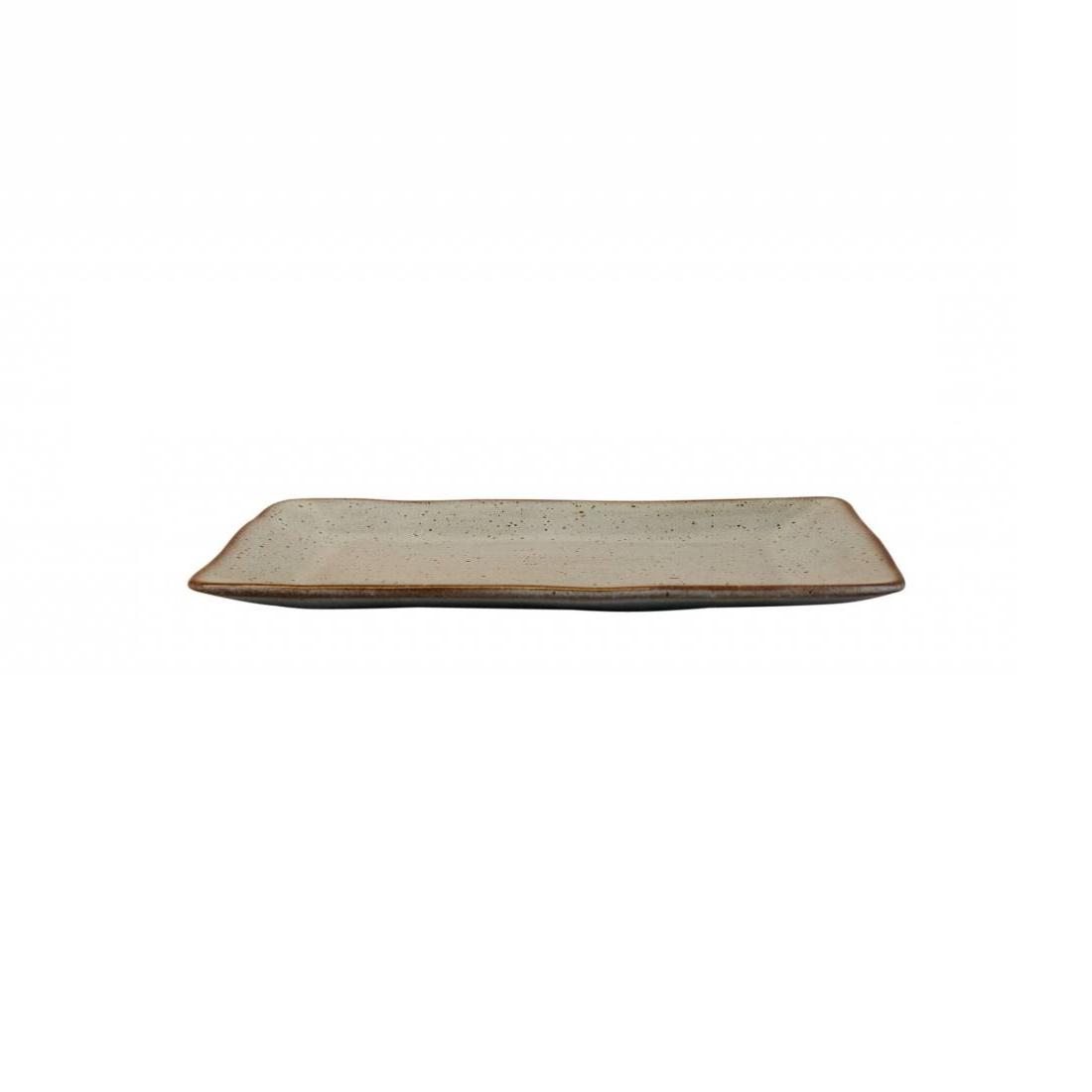 Schaal stone rechthoek medium zeegroen