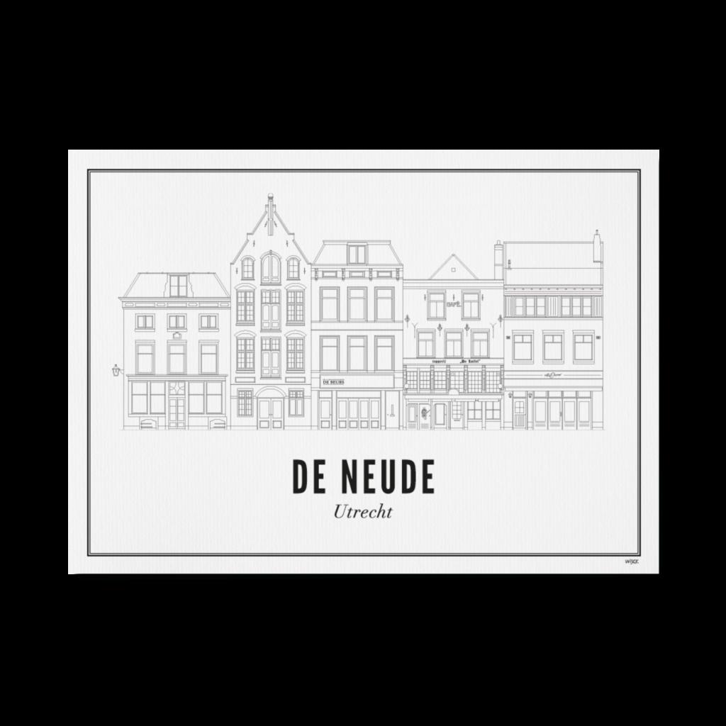 Utrecht de Neude 30x40