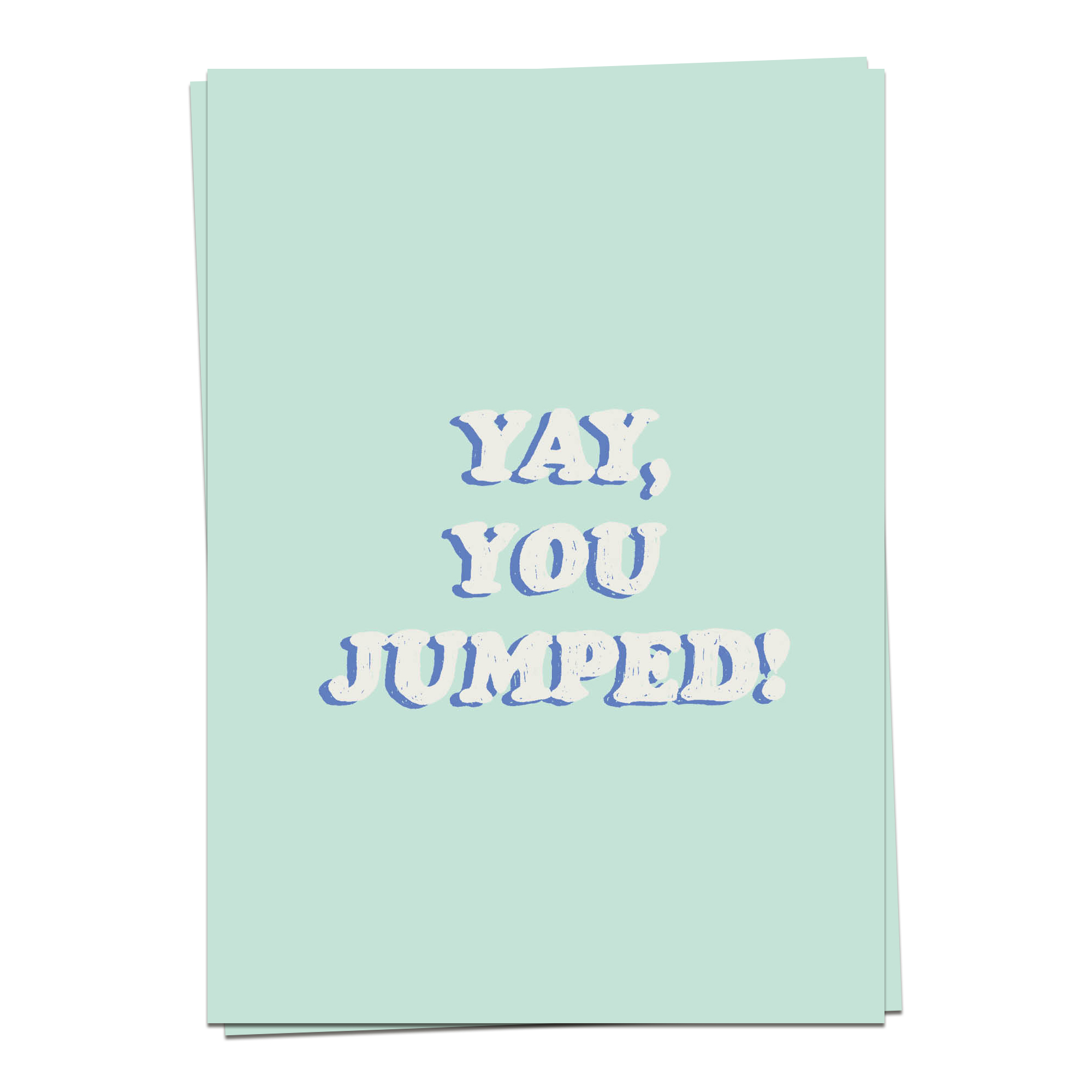 Support – Yay, you jumped