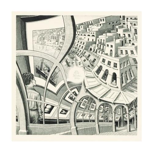 Prentenkabinet - M.C. Escher 210 stukjes