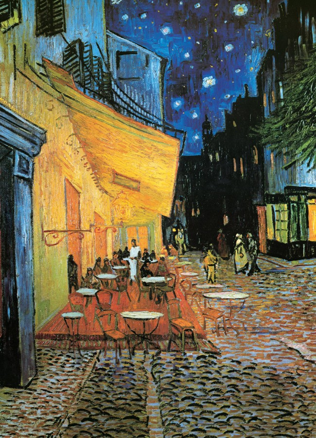 Puzzel - cafe Terrace at night, van Gogh
