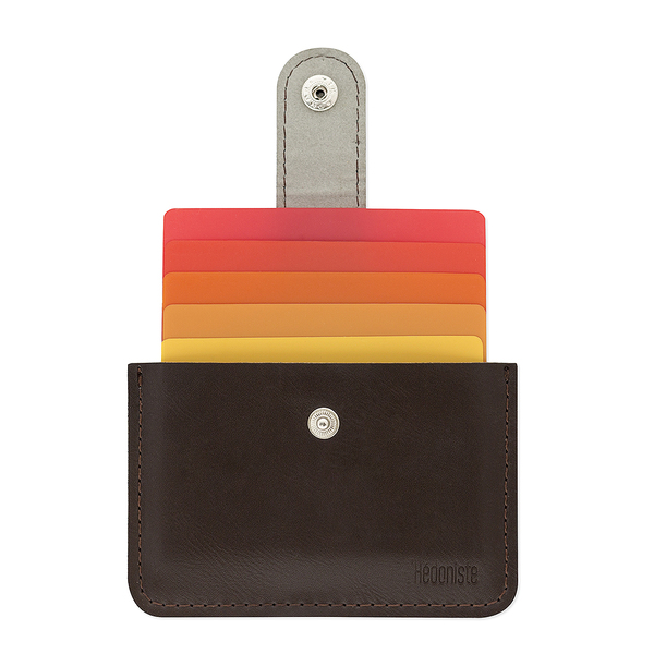 Creditcard holder L'hedoniste brown