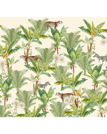 Behang Flower Garden 3 X 2,8 meter