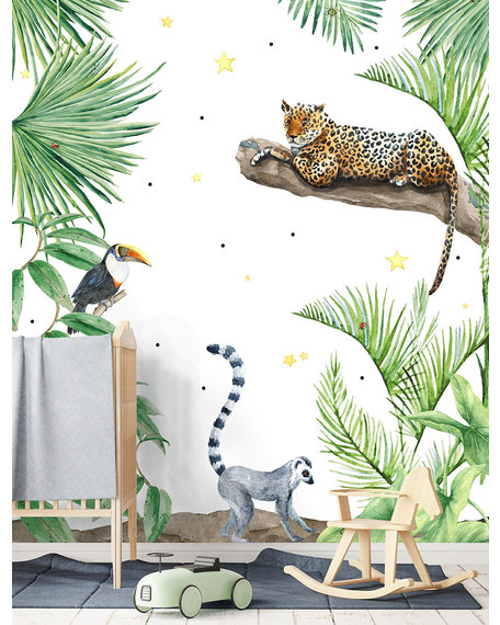 Behang Jungle Tiger 2 X 2,8 meter
