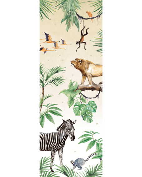 Behang King of the Jungle 1 X 2,8 meter