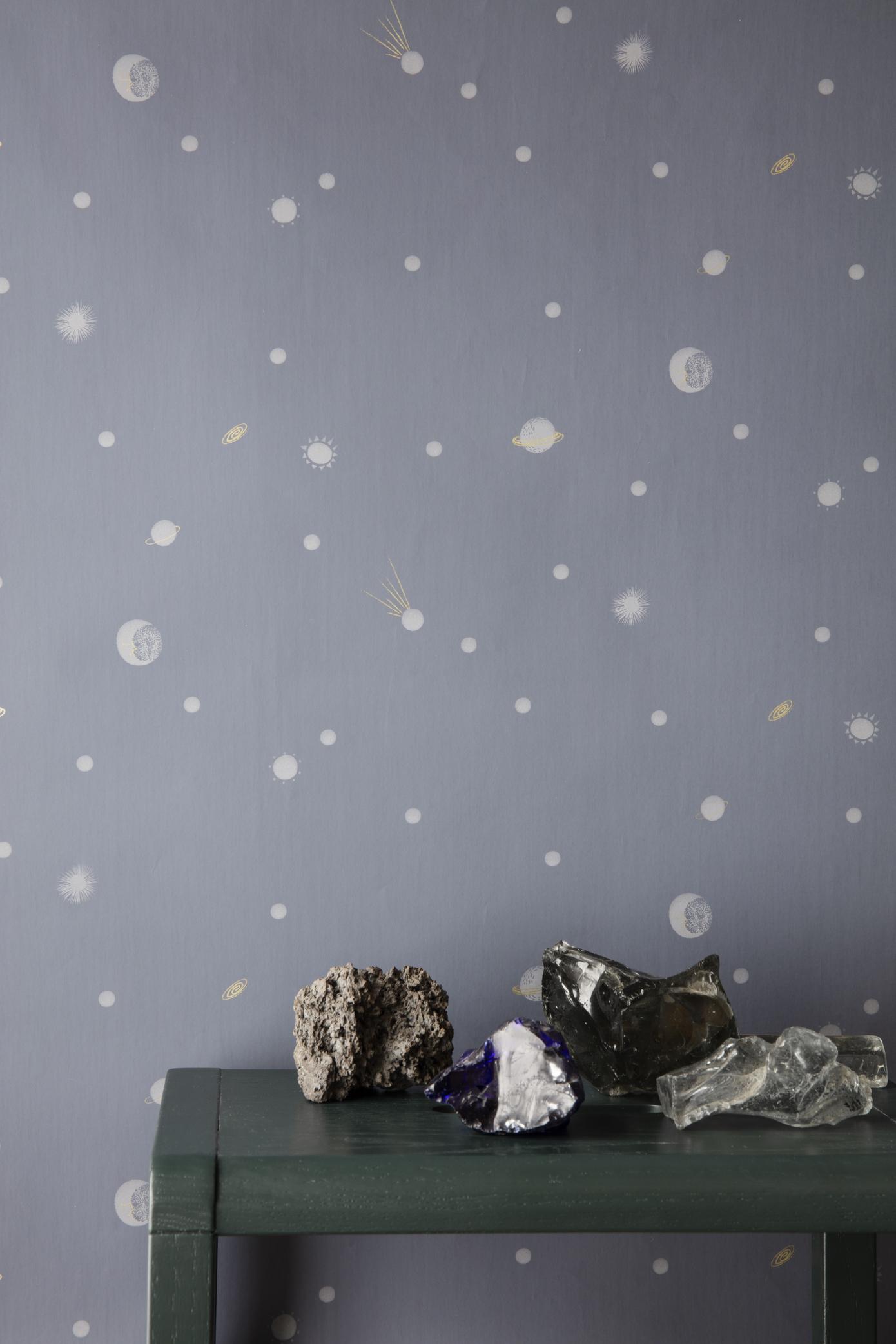 Ferm Living Behang Moon
