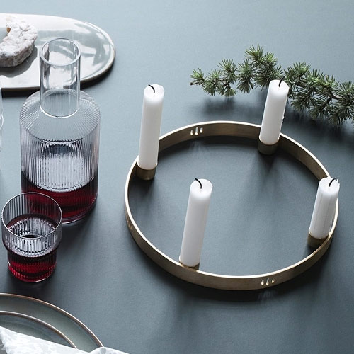 Ferm Living Candle Holder Circle Small