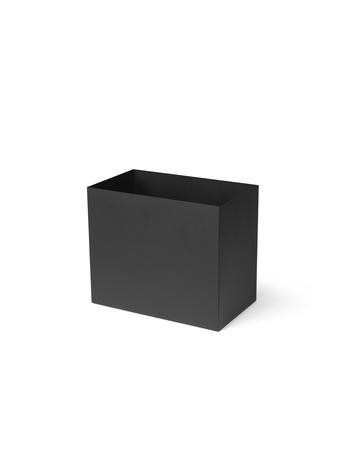 Pot for plant box large black