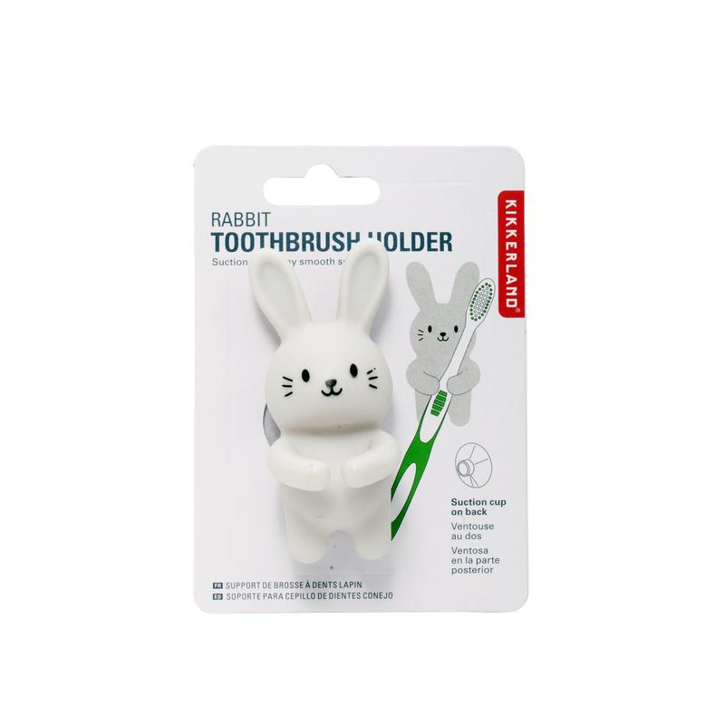 Rabbit toothbrush holder