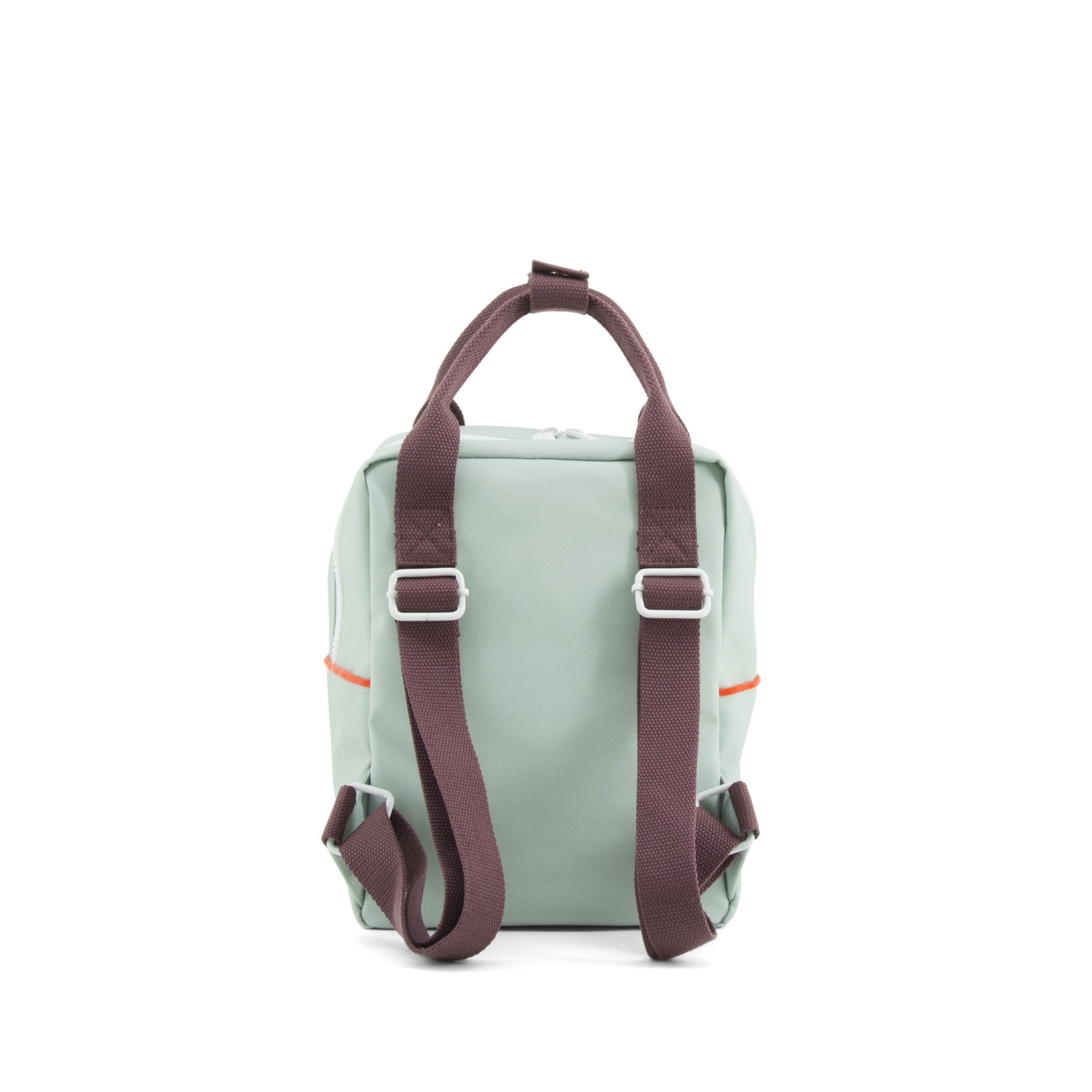 Backpack teddy small sage green sporty red