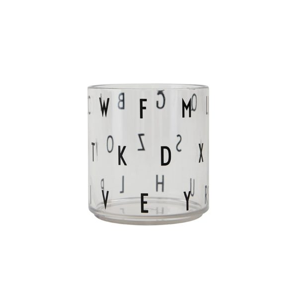 Kids personal drinking glass abc