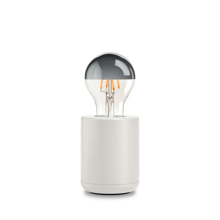 Base lamp white