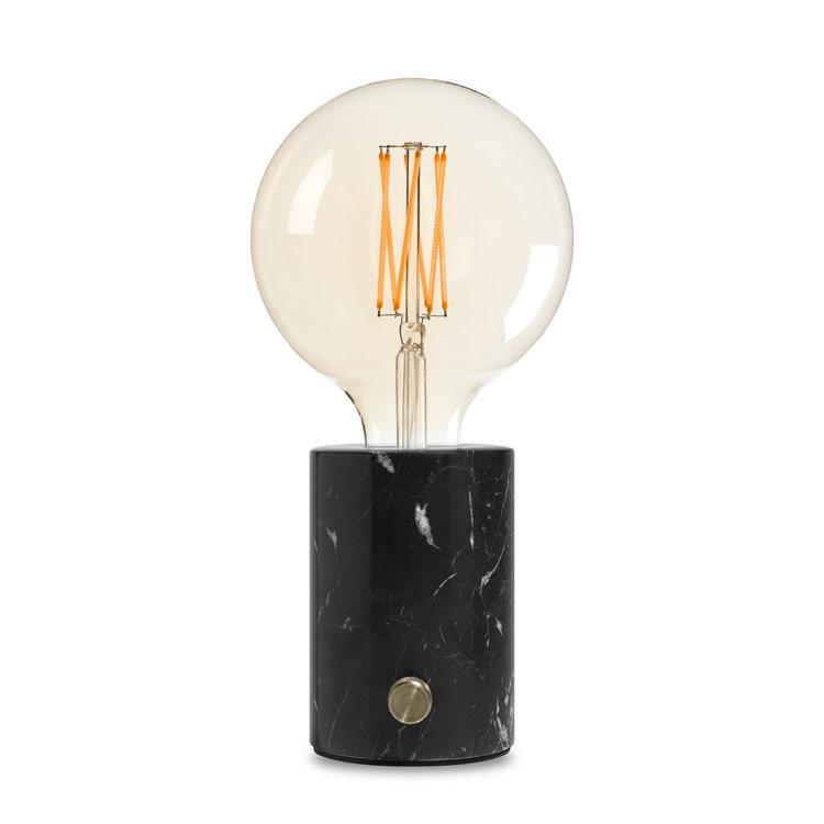 Orbis lamp black marble