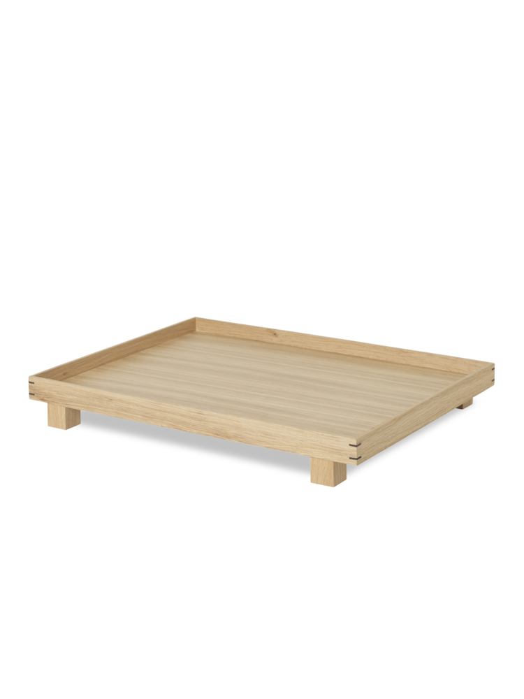 Bon wooden tray large oak