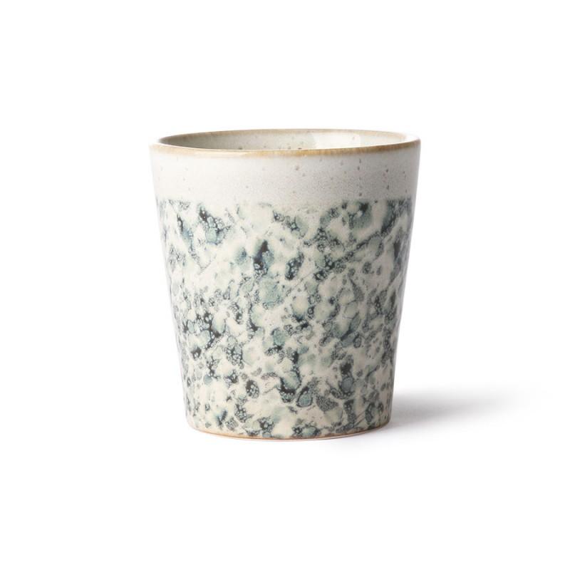 Ceramic 70's mug hail