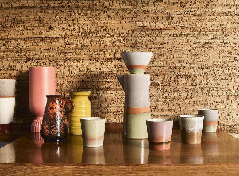 Ceramic 70's mug venus