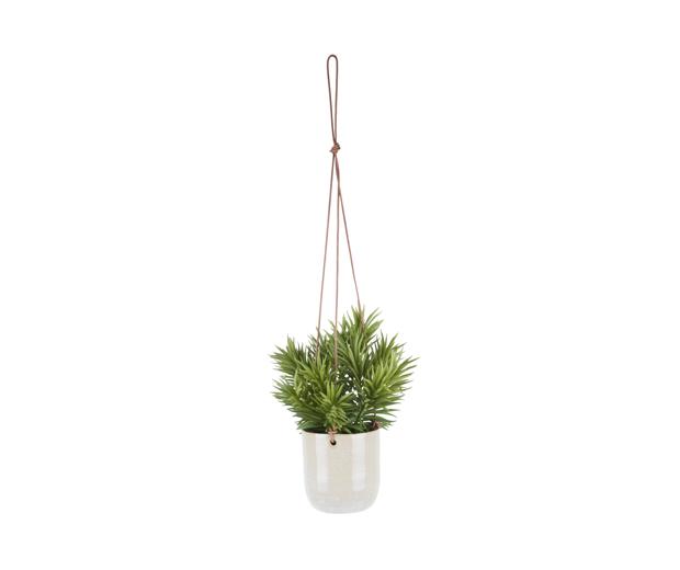Hanging pot eternal ceramic off white