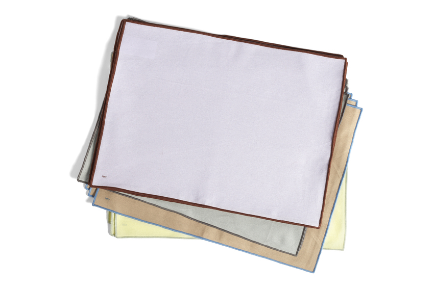 Hay Contour Placemat set of 4 Beige