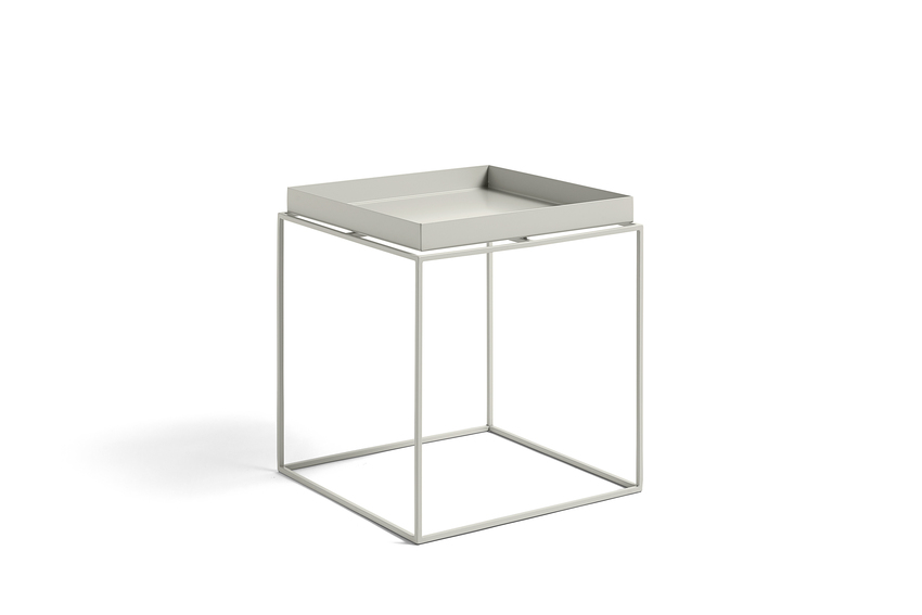 Hay Tray Table Side Table M Warm Grey