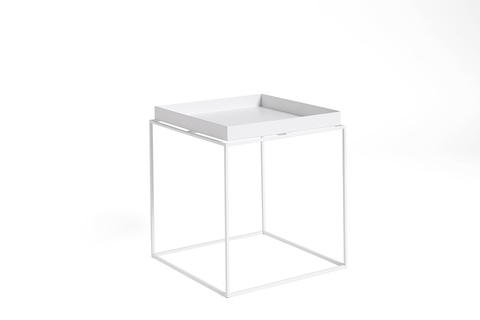 Hay Tray Table Side Table M White