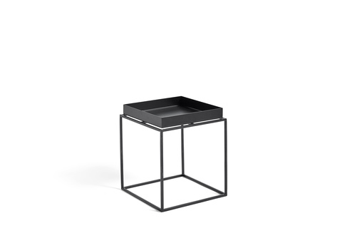 Hay Tray Table Side Table S Black