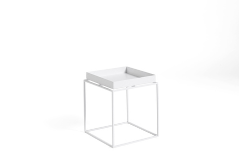 Hay Tray Table Side Table S White