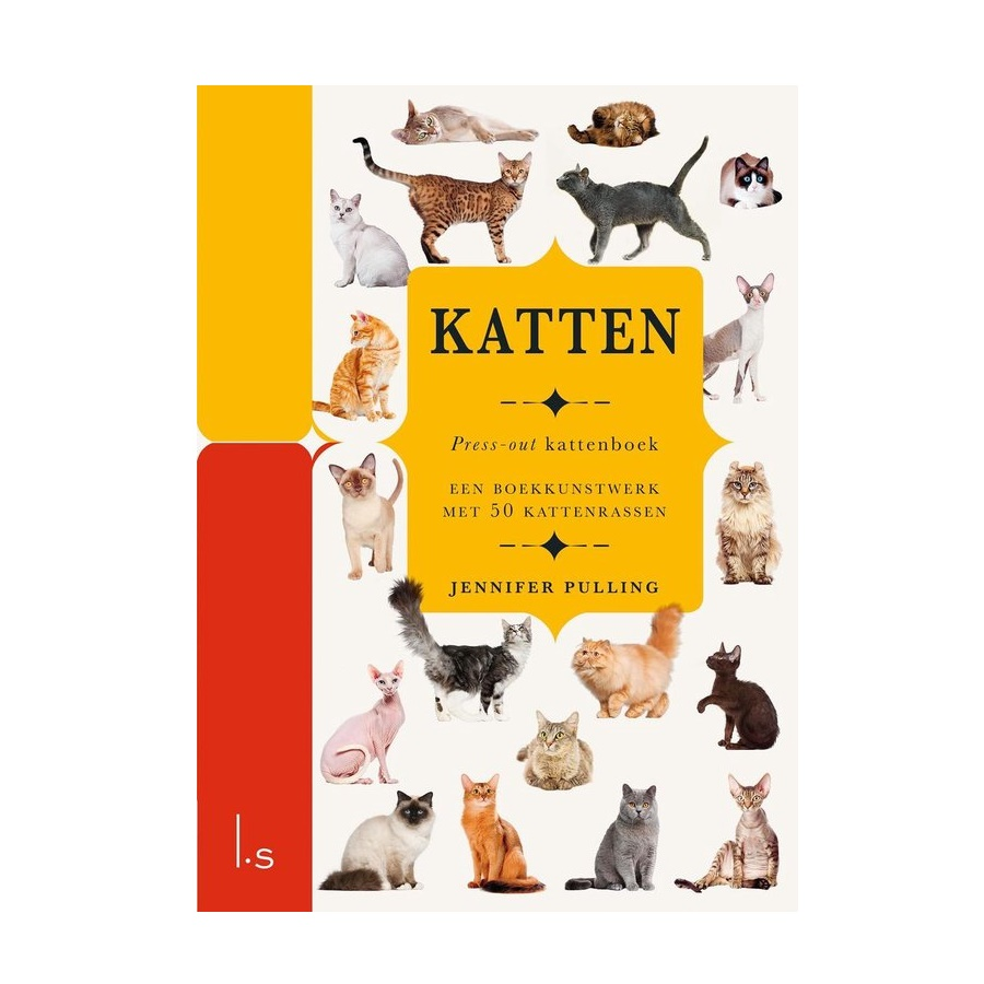 Katten press-out boek